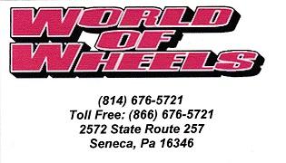 World Of Wheels, Seneca PA